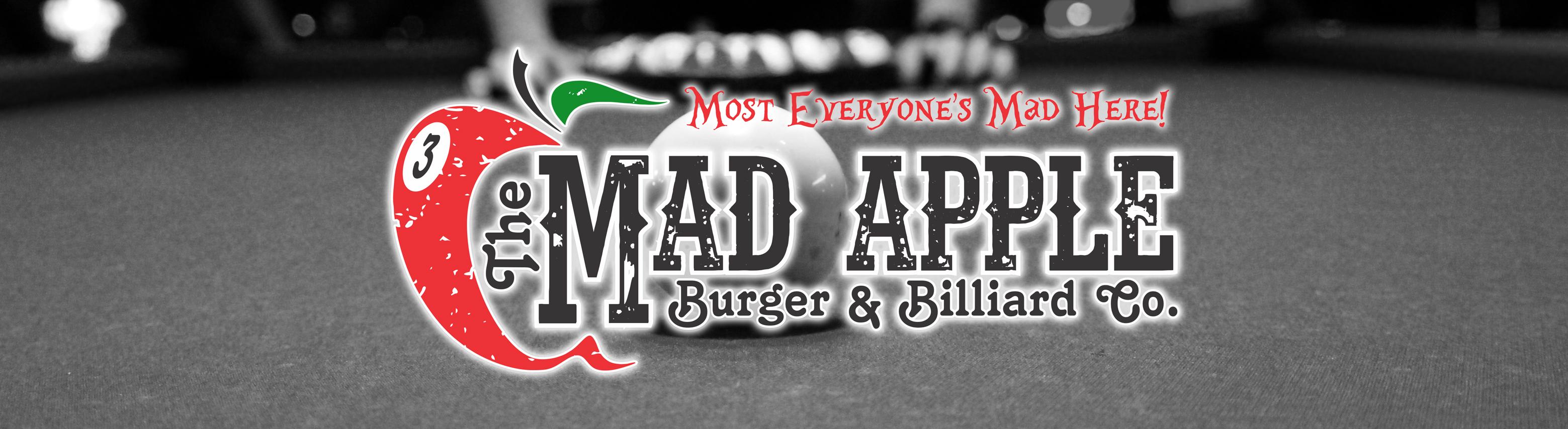 The Mad Apple Burger & Billiard Co  Restaurant & Pool Hall