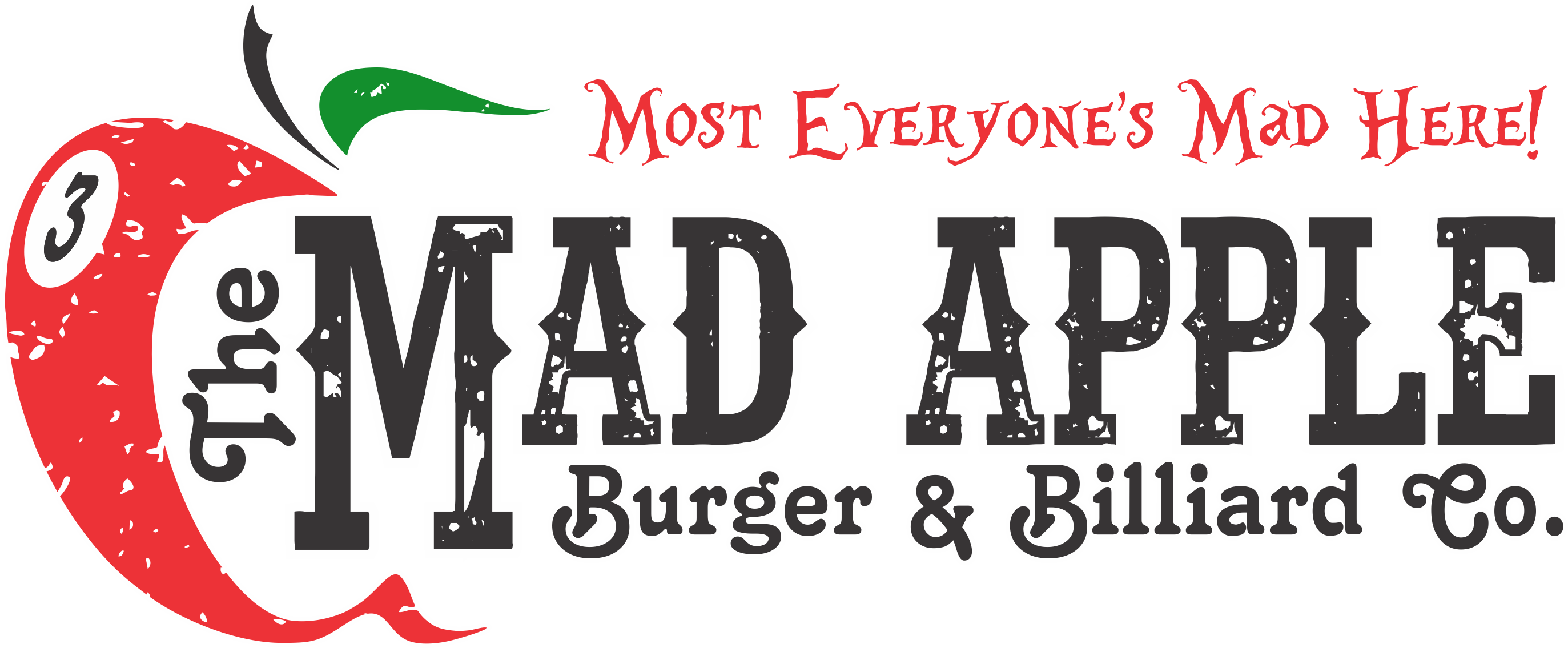The Mad Apple Burger & Billiard Co  Restaurant & Pool Hall